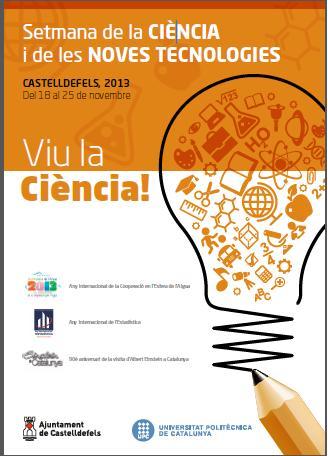 Cartell Setmana de la Ciència