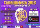 Cartell Castelldefesta 2013