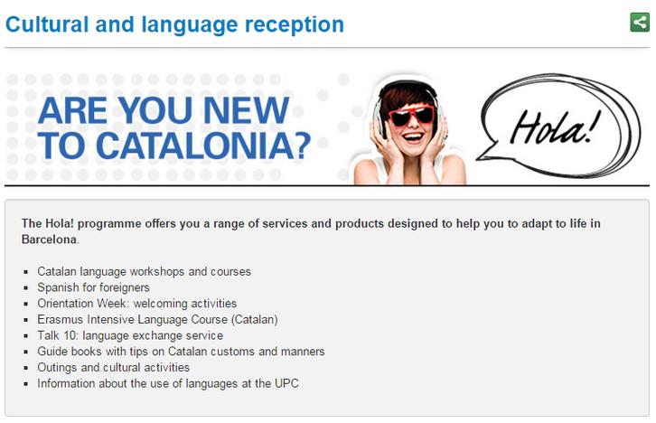 SLT Cultural and language reception